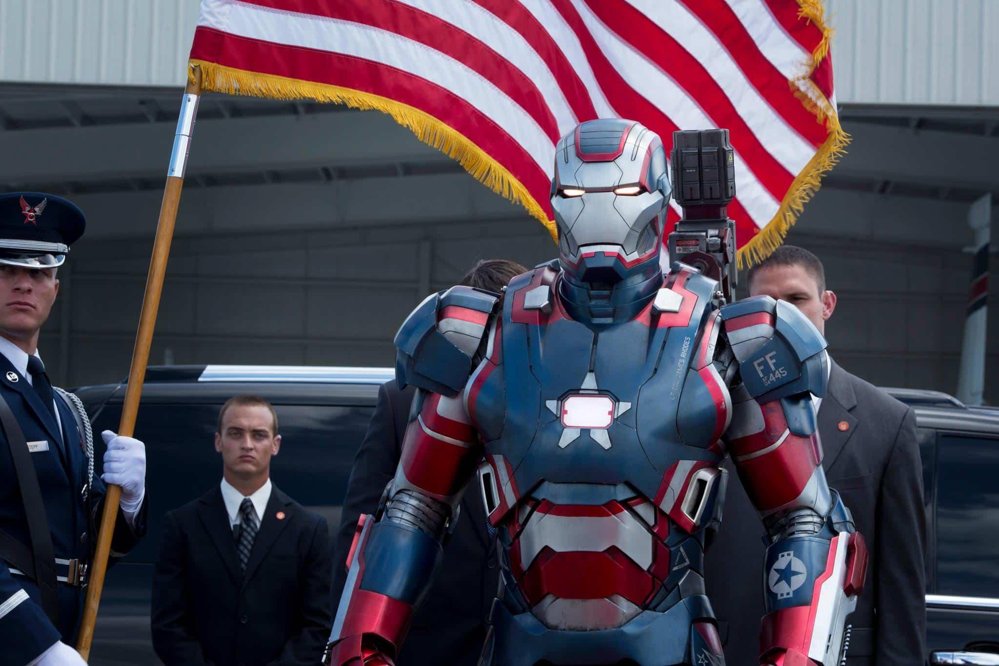 Eric Savin como en Iron Man 3