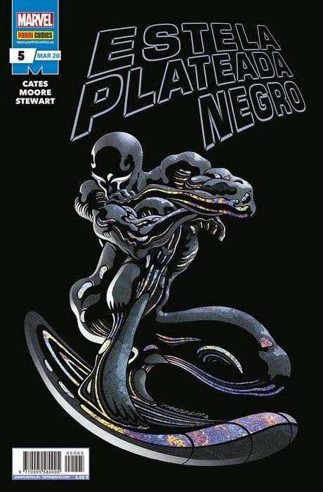 Estela plateada negro Nº 5