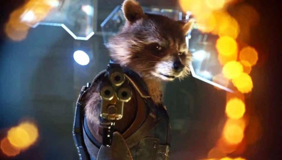 Guardianes de la galaxia vol 2 Rocket Raccoon