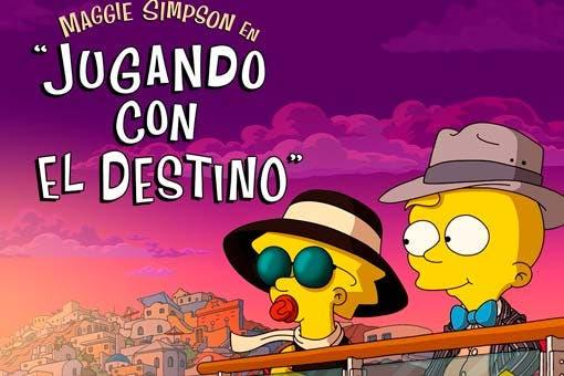 """MAGGIE SIMPSON EN """"JUGANDO CON EL DESTINO"""