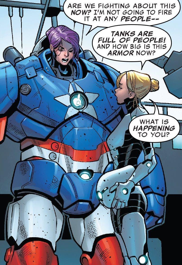 Toni Ho Iron Patriot