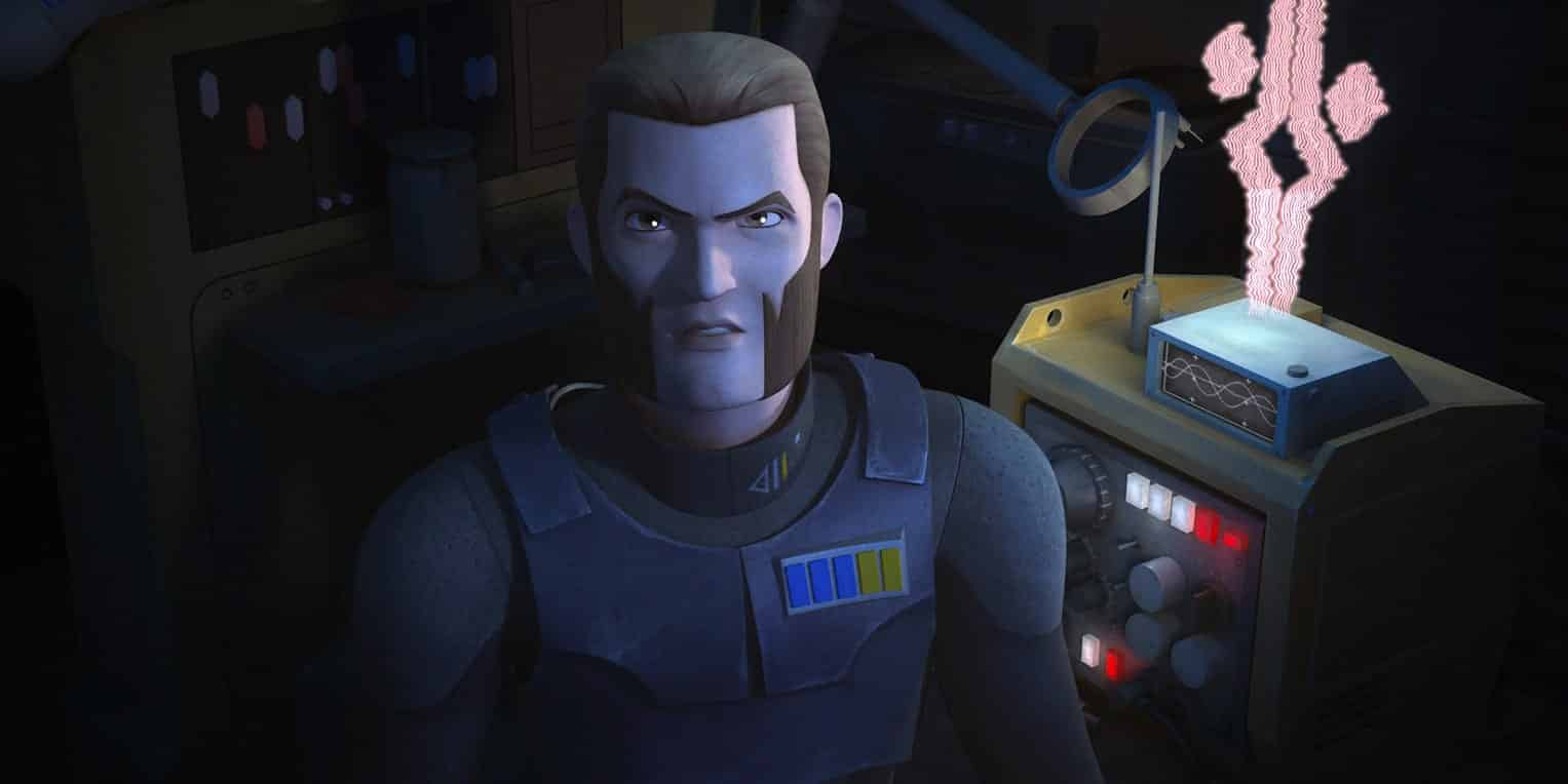 Agente Kallus en Star Wars: rebels
