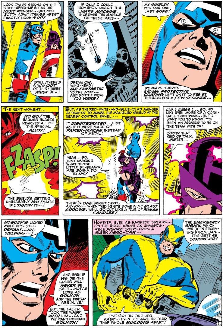 avengers Nº 35