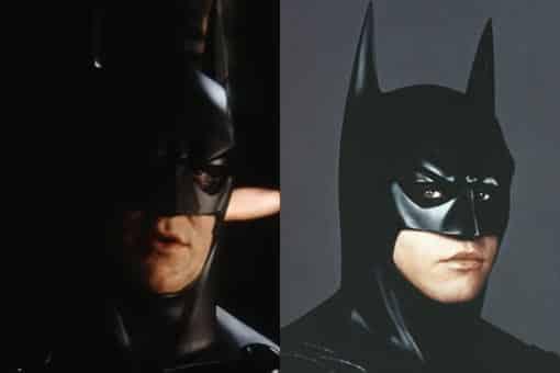 Test de cámara de Christian Bale con el traje de Batman de Val Kilmer