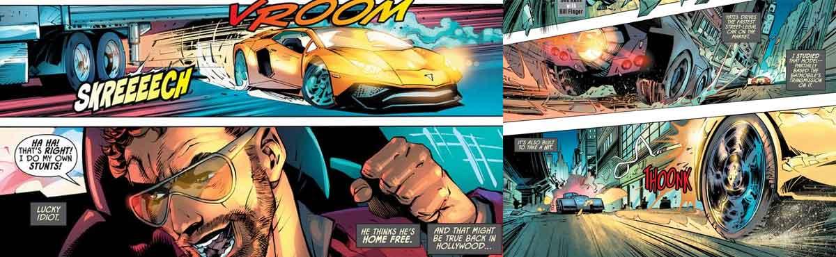 Batman conduce más rápido que cualquiera de Fast and the Furious