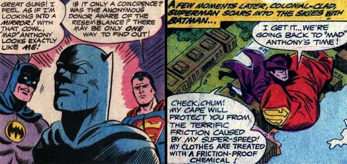 Motivo por el que Superman intentó quemar a Batman como a una bruja