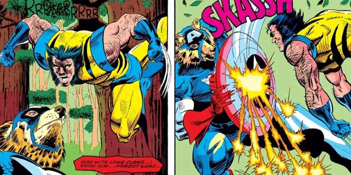 Capitán América se transformó en hombre lobo y se enfrentó a Wolverine