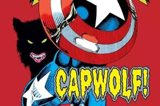 Capitán América hombre lobo Wolverine