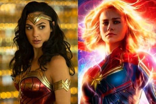 capitana marvel vs wonder woman marvel vs dc comics