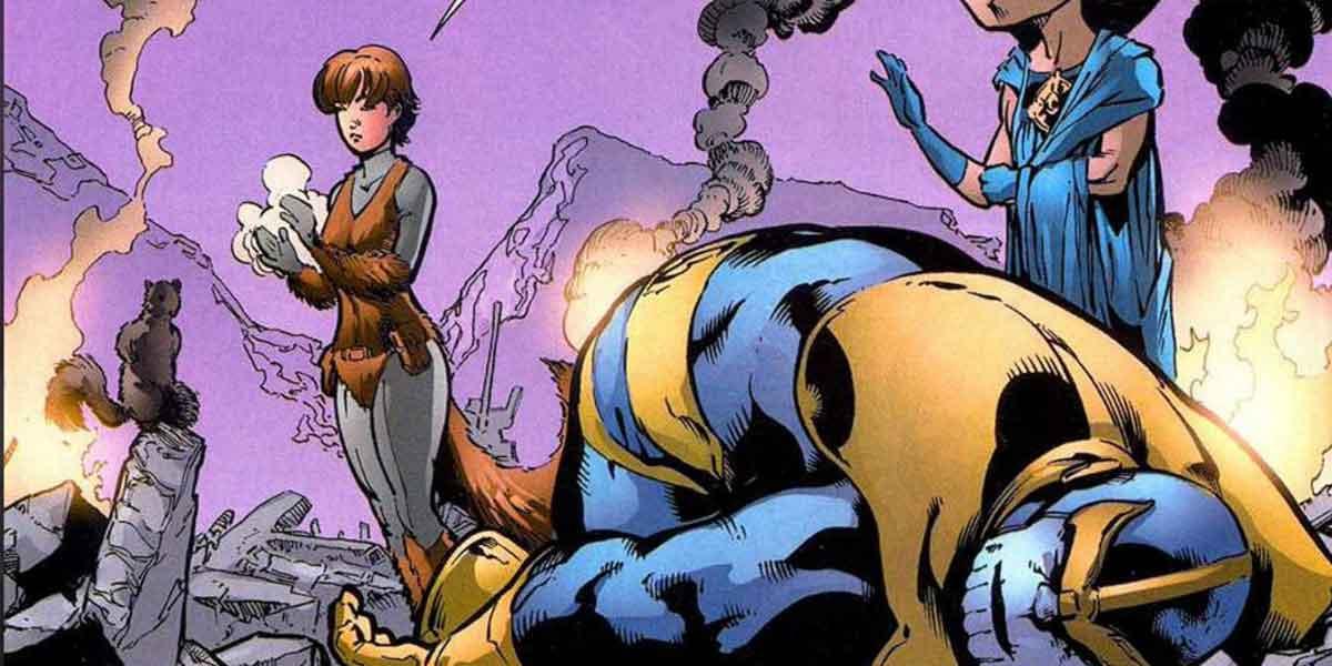 Thanos y Galactus fueron derrotados por una sorprendente superheroína