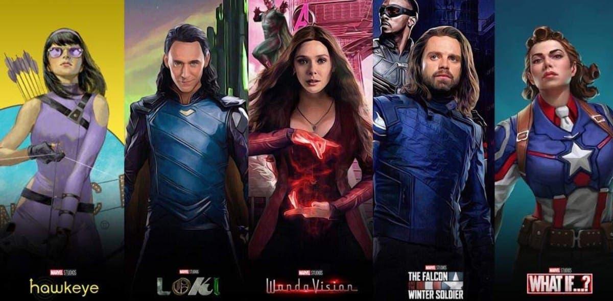 Disney+ reveló las fechas de estreno de las series de Marvel