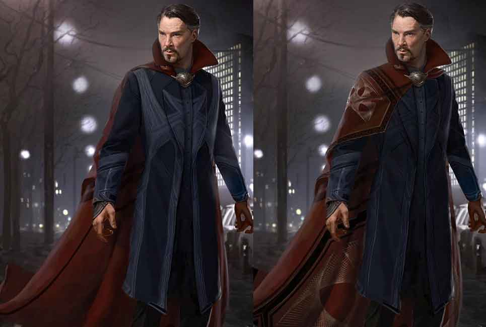Look alternativo de Doctor Strange (2016)