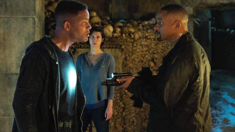 gemini man Will Smith vs Will Smith Blu-ray
