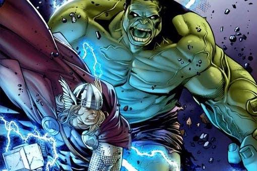 Thor sufrió la derrota más humillante a manos de Hulk