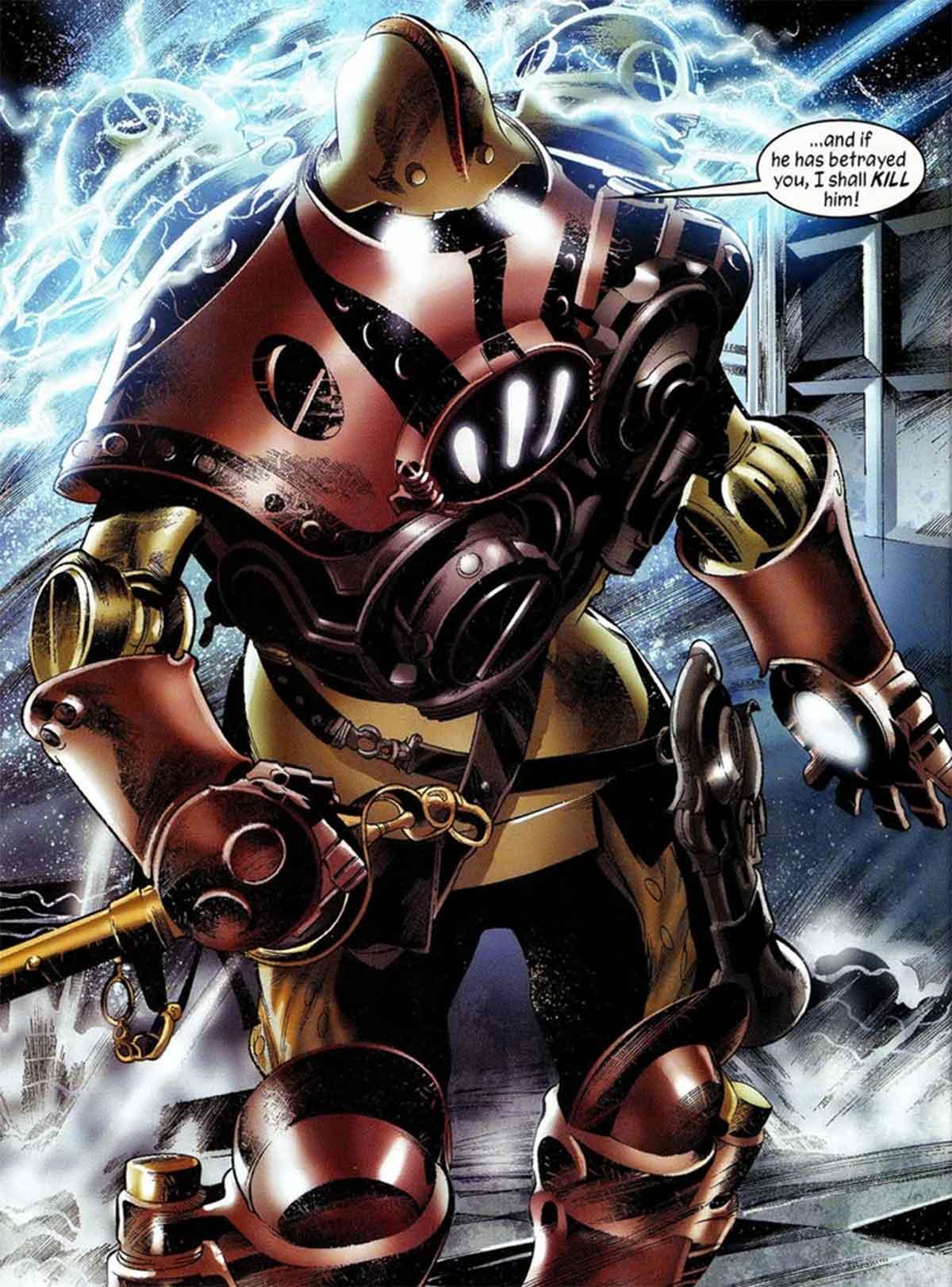 Iron Man creó su armadura más impresionante el año 1602
