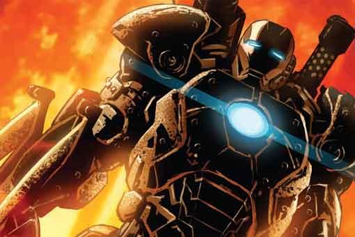 La espectacular armadura de Iron Man creada para matar Elfos Oscuros