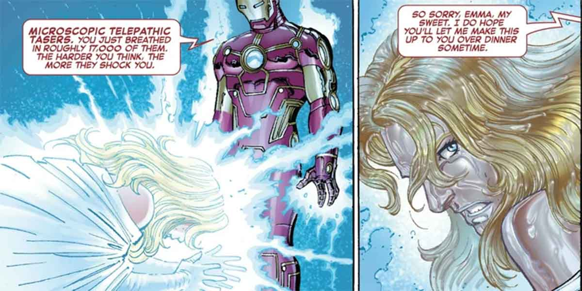 La ciencia de Iron Man puede incluso vencer a los psíquicos de los X-Men