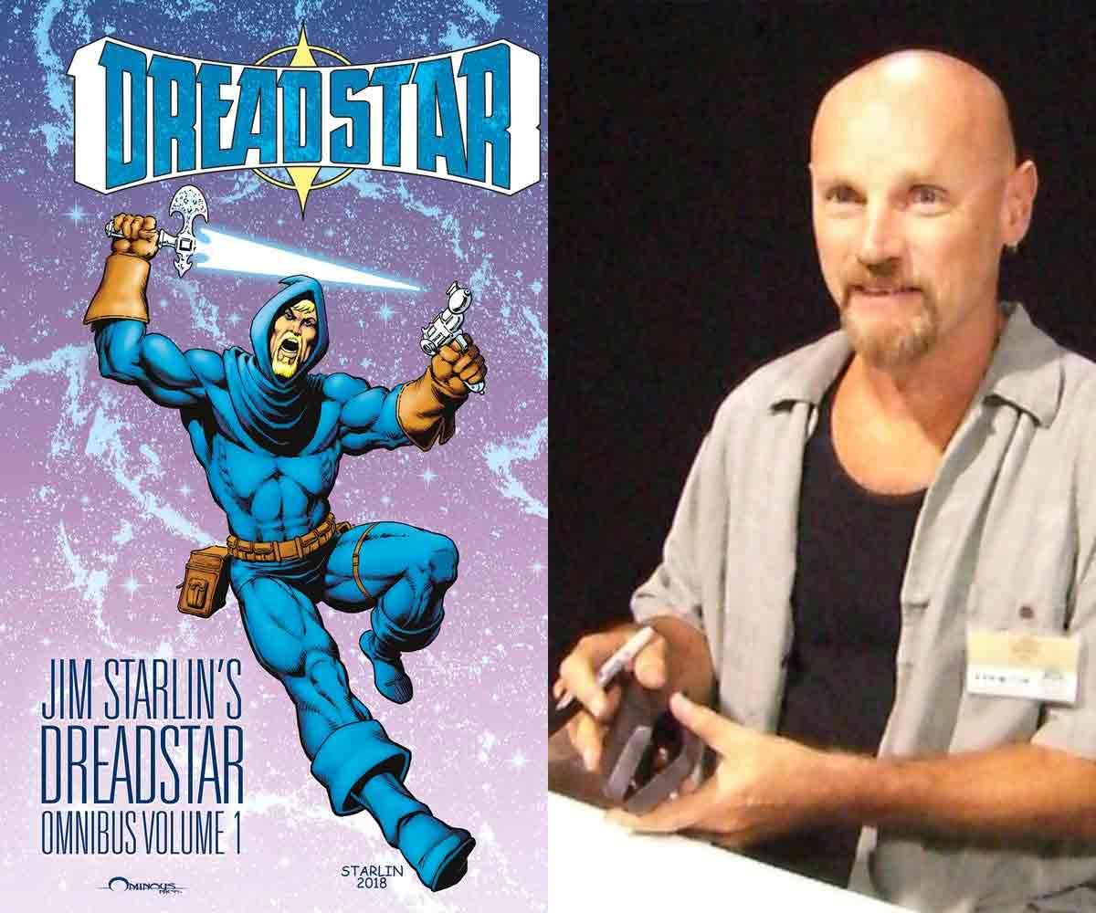 El mítico Jim Starlin (creador de Thanos) regresa al mundo de los cómics