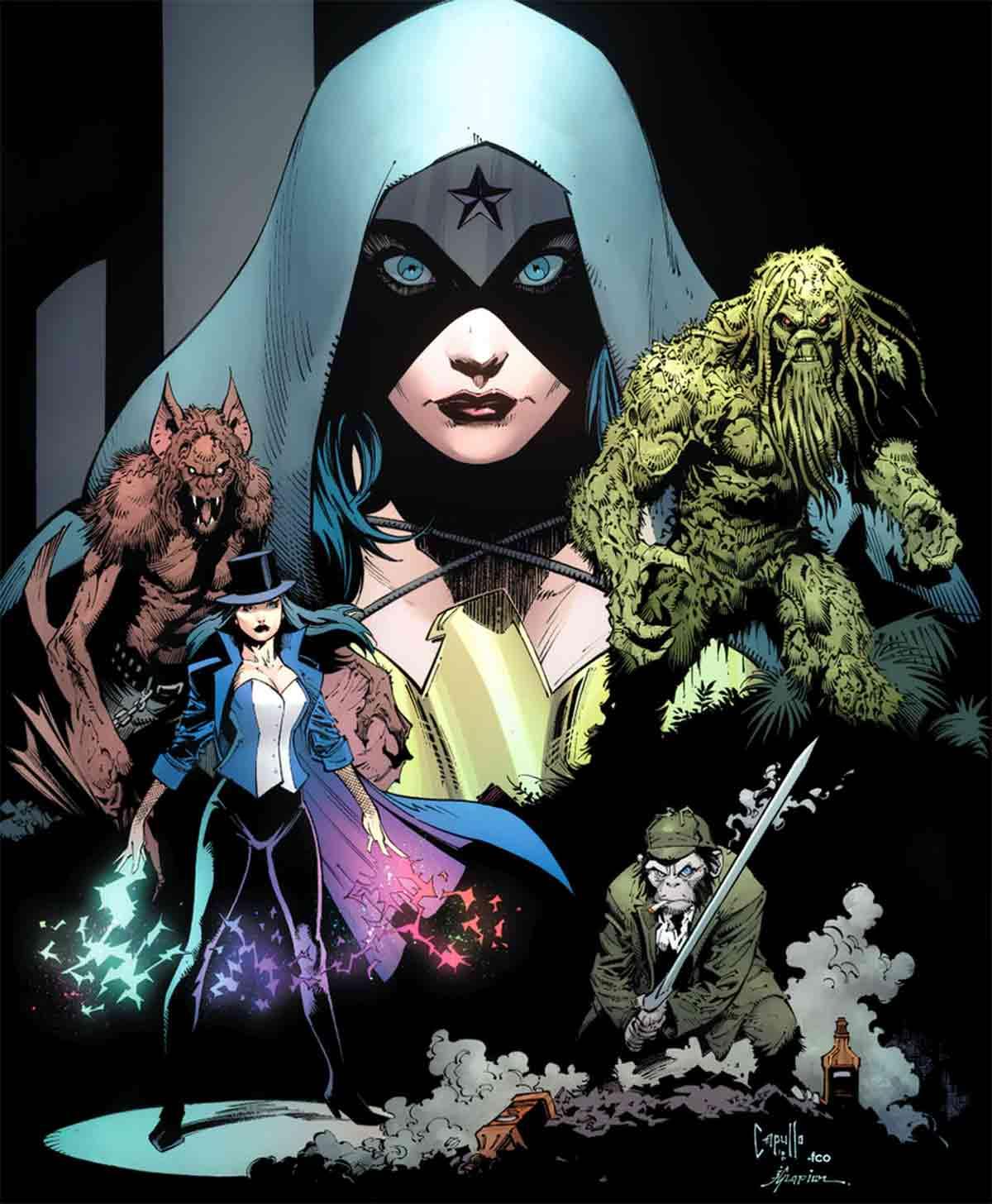 Liga de la Justicia Oscura tendrá una serie de acción real de J.J. Abrams
