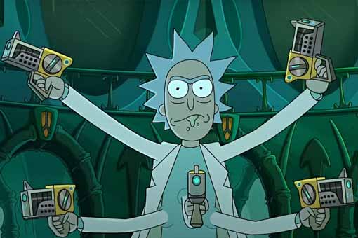 Rick y Morty temporada 4 se burla de Star Wars, Alien y Batman