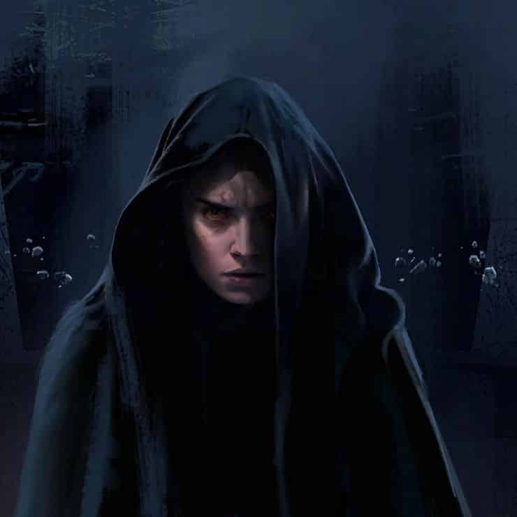 Star Wars: El ascenso de Skywalker. Concept art Dark Rey