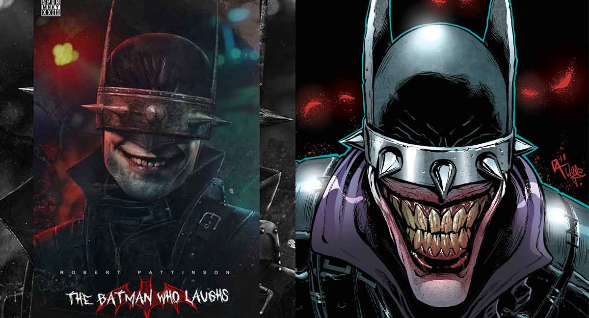 Espectacular Fan Art de Robert Pattinson como El Batman que ríe