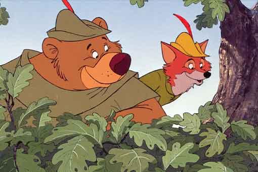 Disney hará un remake de acción real de Robin Hood (1973)