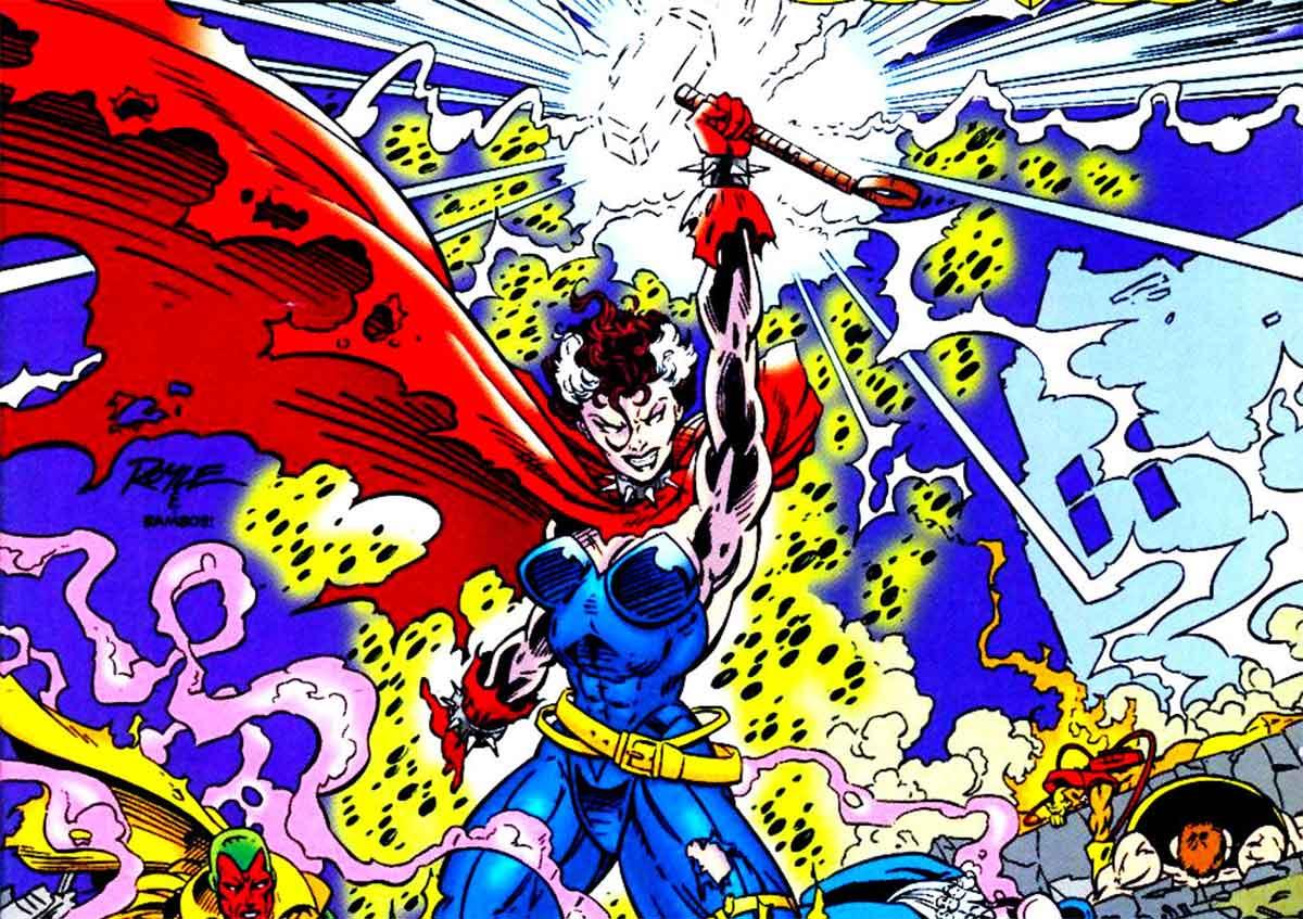 Thor fue asesinado y reemplazado por una X-Men
