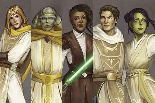 Star Wars revela los nuevos caballeros Jedi de la Alta República