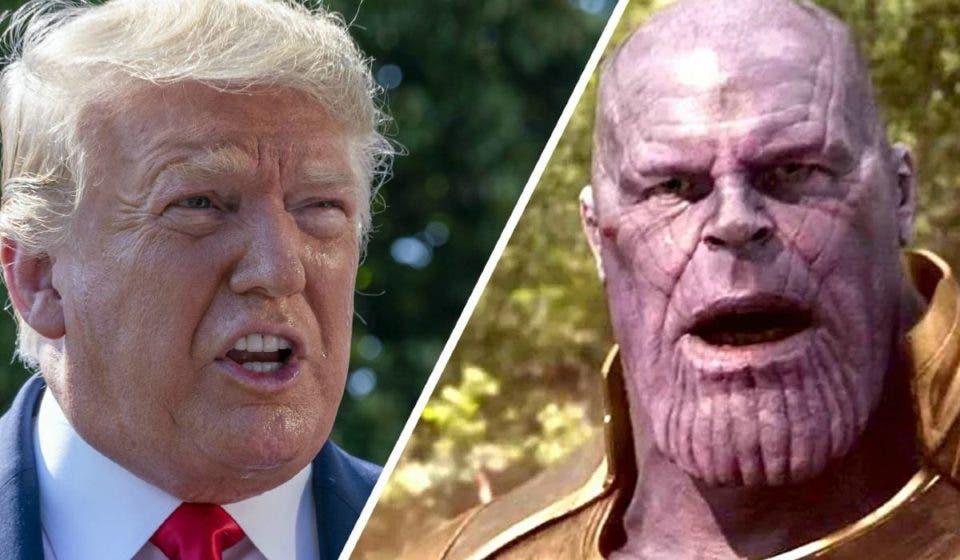 ¿El discurso de Thanos estaba inspirado en Donald Trump?