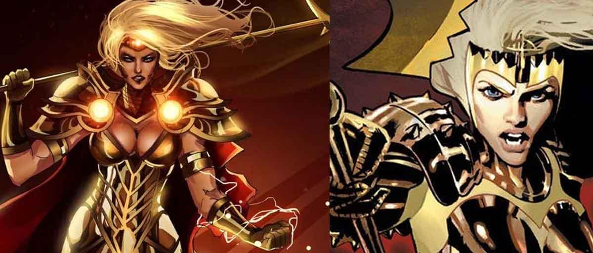 Diferencia entre Thena y Atenea del Universo Marvel