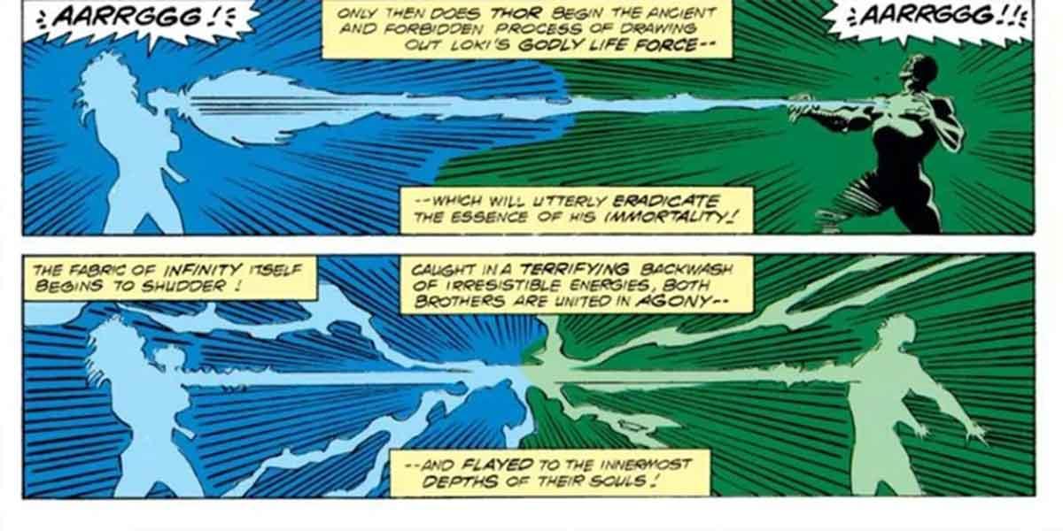 Así mató Thor a Loki