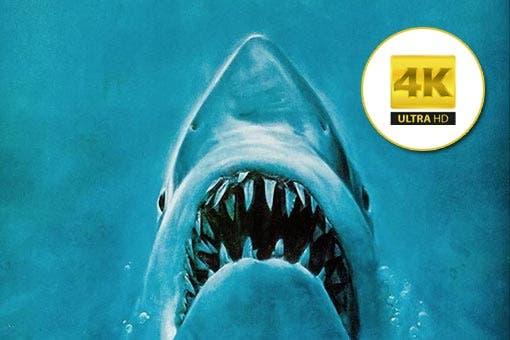 Tiburón (1975) llega al formato 4K