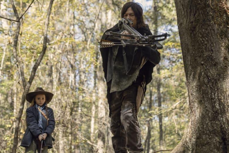 The walking dead 10x15 Daryl y Judith