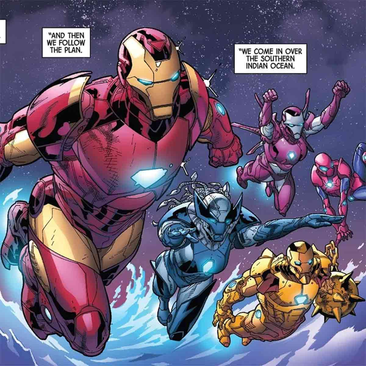 Wolverine tiene una espectacular armadura estilo Iron Man