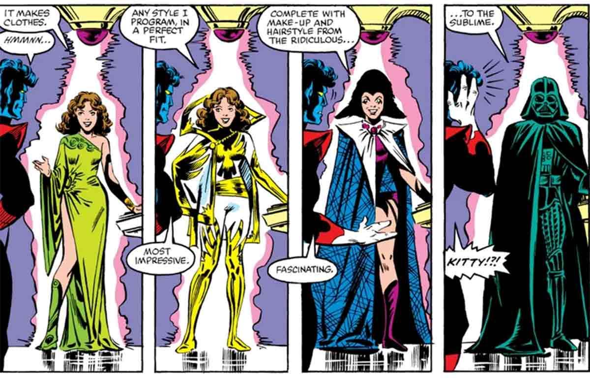 La mutante de los X-Men que se disfrazó de Darth Vader