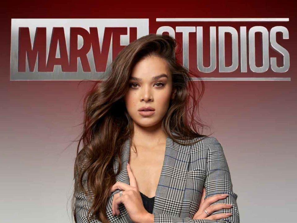 Hailee Steinfeld no quiere hablar de la serie de Marvel de Ojo de Halcón