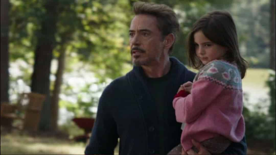 Morgan Stark Tony Stark
