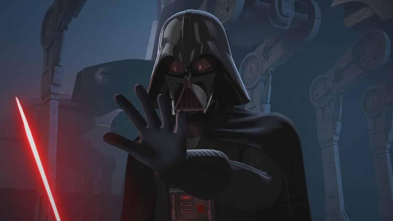 Vader star wars rebels