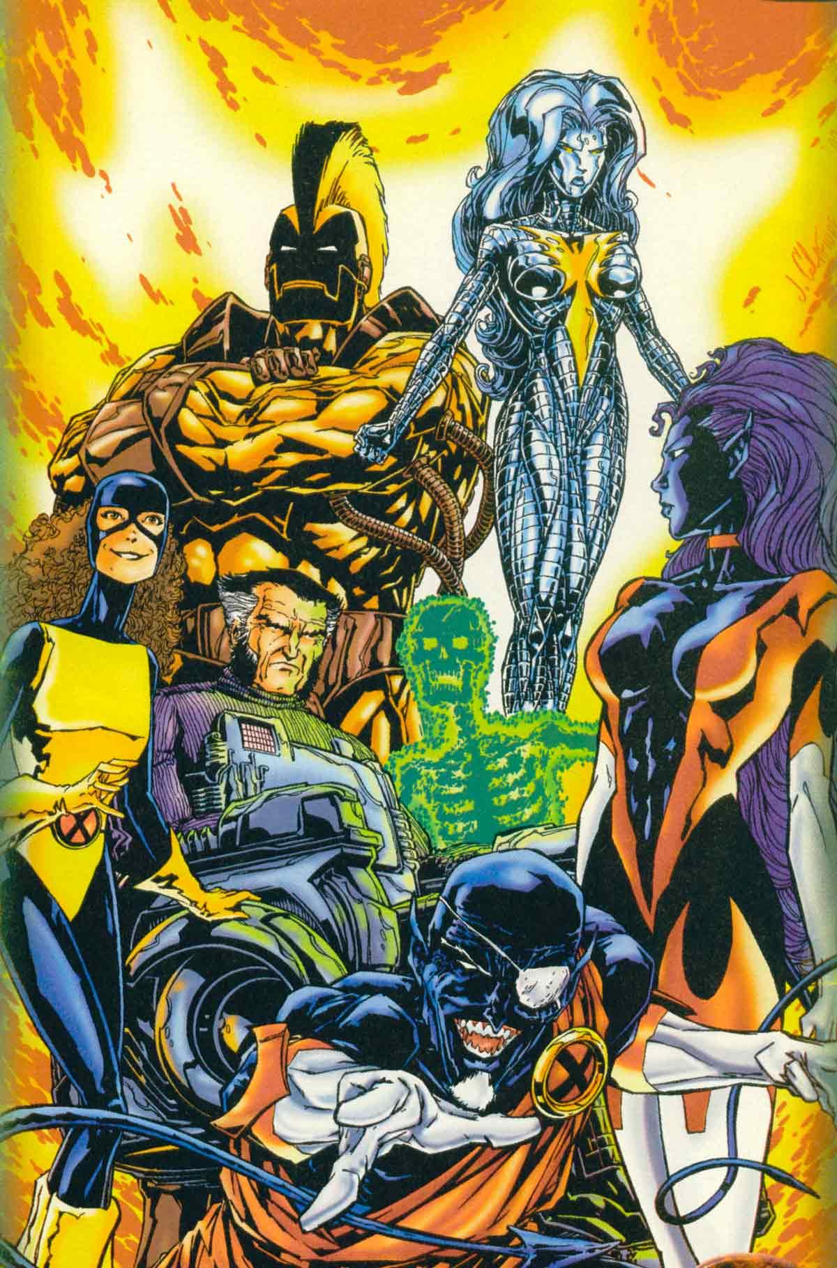 Nocturne X-Men Earth 2182 -X-Men: Millennial Visions Vol 1