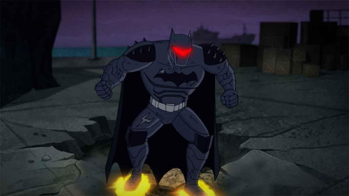 Batman copia la armadura de Iron Man