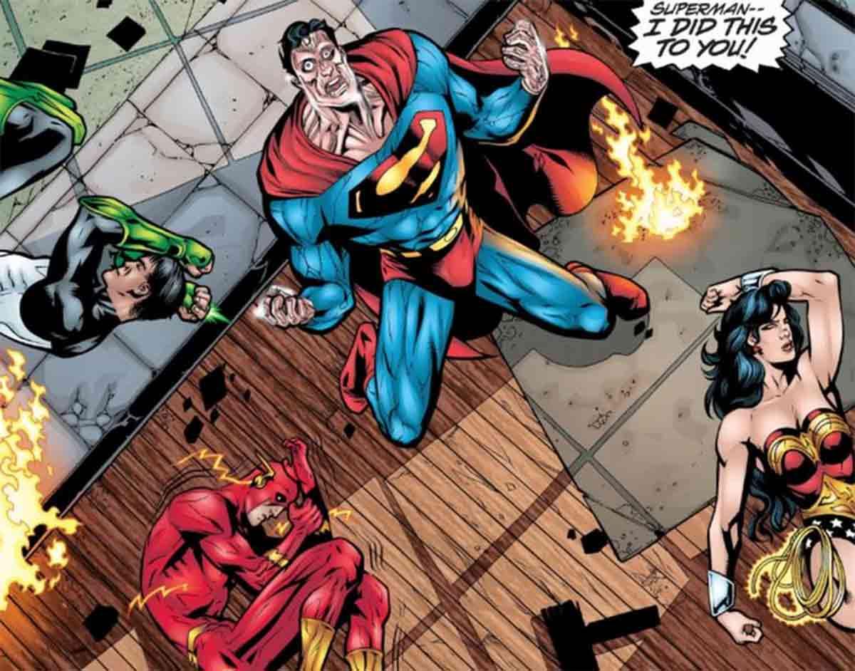 El plan de Batman para derrotara a toda la Liga de la Justicia