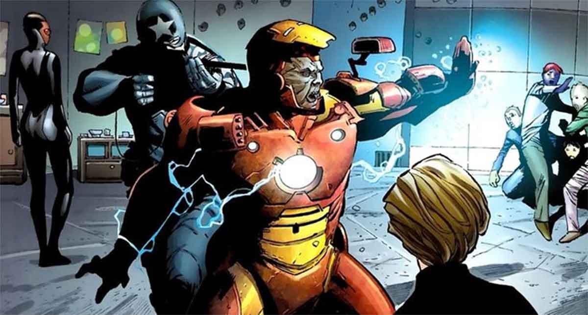 Capitán América mató a Iron Man antes de que hiciera algo horrible