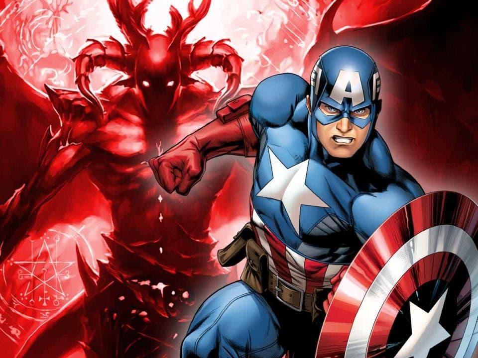 Capitán América se peleó con Satán
