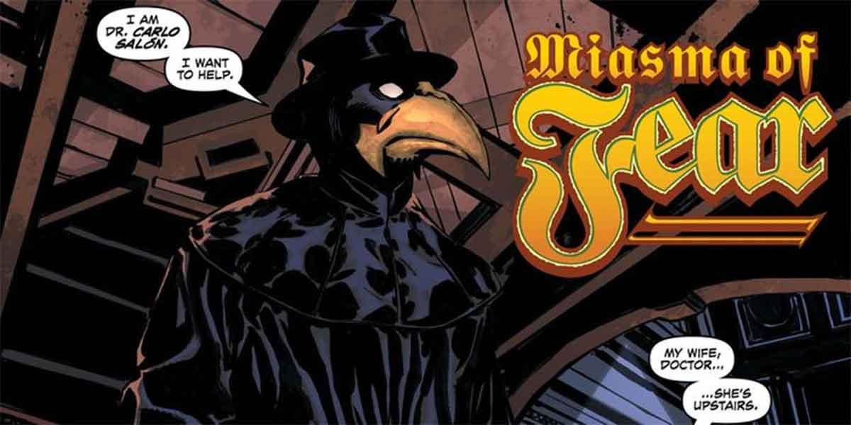 Así se enfrentó un superhéroe de DC Comics a una epidemia real