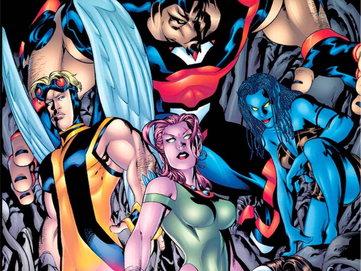 exiliados 1 Marvel Comics