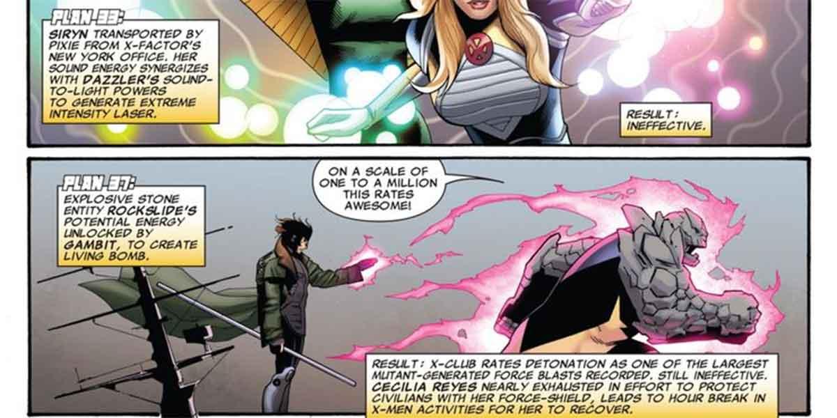 Gambito creó la mayor bomba del Universo Marvel para destruir a un Dios