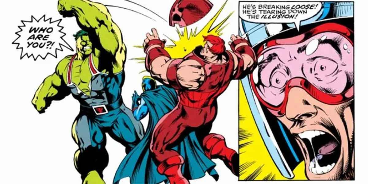 Hulk y Juggernaut tiene una de las batallas más intensas de Marvel
