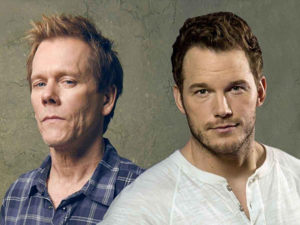 Chris Pratt no se atreve con el desafío de baile contra Kevin Bacon