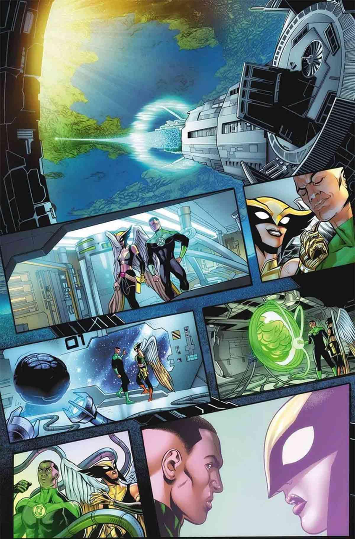 DC Comics revela las primeras imágenes del 80 aniversario de Linterna Verde
